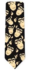 Cravate au Sujet Chimpanzés